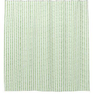 Lime & Gray_ Narrow Stripes.