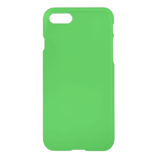 Lime Green Clear iPhone 7 Case
