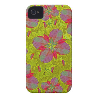 Lime Green Deco Case-Mate iPhone 4 Cases