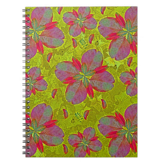 Lime Green Deco Notebooks