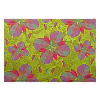 Lime Green Deco Place Mats
