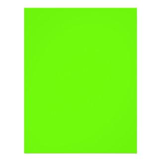 Lime Green Custom Flyer