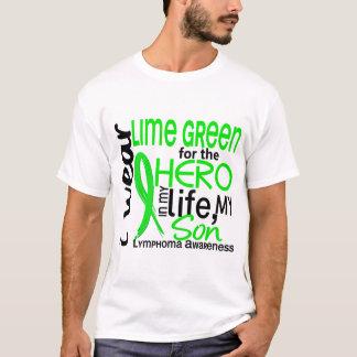 Lime Green For Hero 2 Son Lymphoma T-Shirt