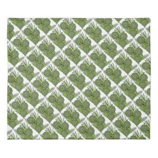 Lime Green Gerbera Daisy Flower Bouquet Duvet Cover