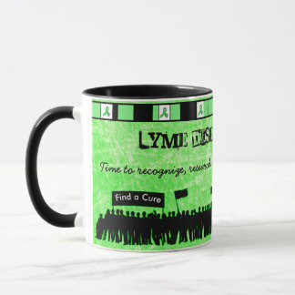 Lime Green Lyme Disease Awareness Coffee Mug