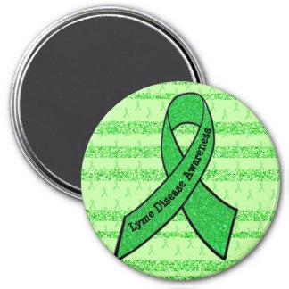 Lime Green Lyme Disease Awareness Magnet