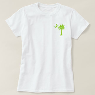 Lime Green Pocket Palmetto T-Shirt