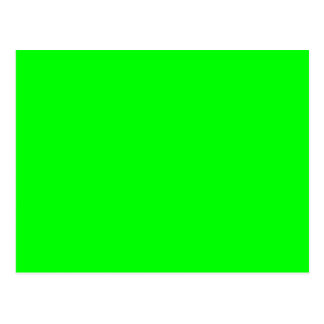 Lime Green Postcard