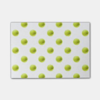 Lime Green Tennis Balls Background Ball Post-it Notes