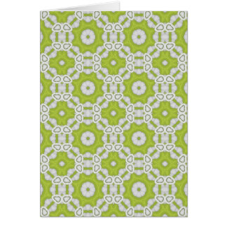 lime green tile card