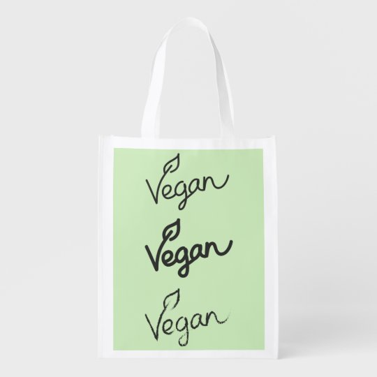 Lime Green - VEGAN Reusable Grocery Bag