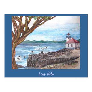 Lime Kiln, San Juan Island Postcard
