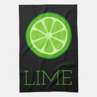 Lime Kitchen Towel
