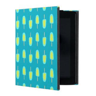 Lime Lemon Popsicles Watercolor (Customize Color) iPad Case