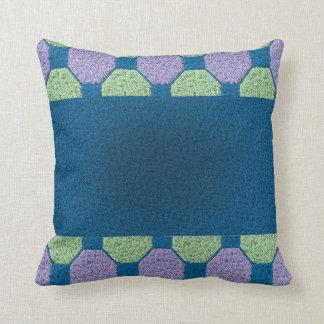 Lime & Lilac Pattern Pillow