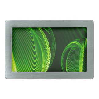Lime lines in two balls belt buckle
