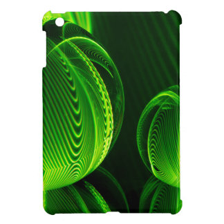 Lime lines in two balls cover for the iPad mini