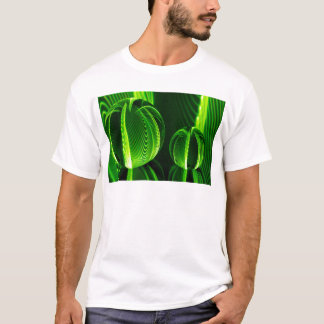 Lime lines in two balls T-Shirt