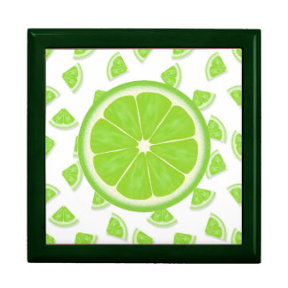 LIME Lover GREEN Jewelry Box