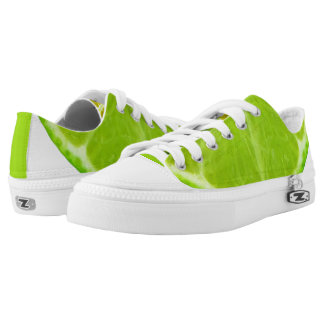 Lime Low-Top Sneakers