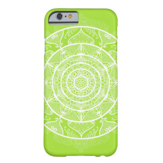 Lime Mandala Barely There iPhone 6 Case