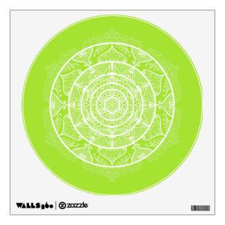 Lime Mandala Wall Decal