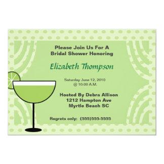 Lime Margarita Bridal Shower  Party  Invitation