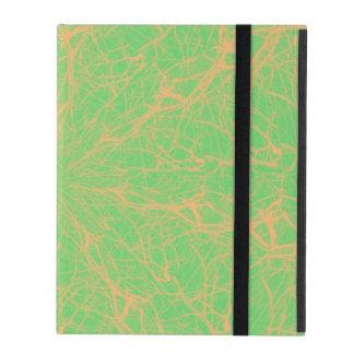 Lime Maze iPad Case