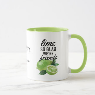 lime mug, best friend, BFF mug, bridesmaid Mug