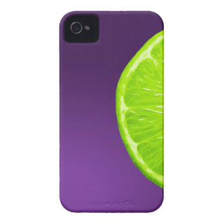 Lime on Purple Case-Mate iPhone 4 Case