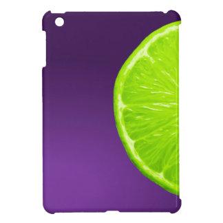 Lime on Purple iPad Mini Covers