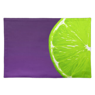 Lime on Purple Placemat