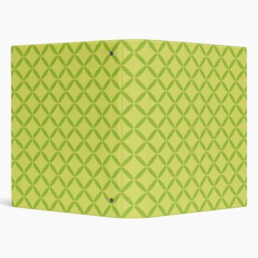 Lime Pattern Binder
