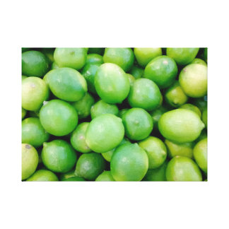 Lime Photo Canvas