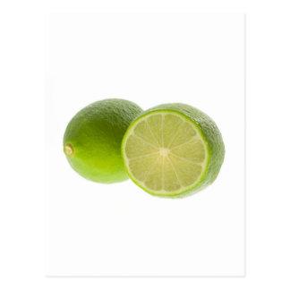 Lime Postcard