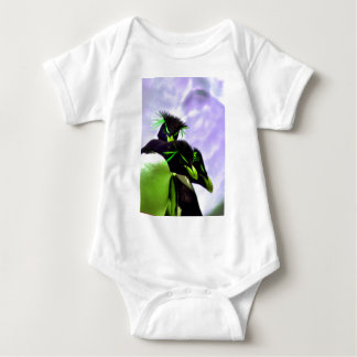 Lime Rockhopper Penguins Baby Bodysuit