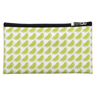 Lime Slice Cosmetics Bag