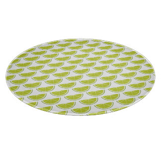 Lime Slice cutting board