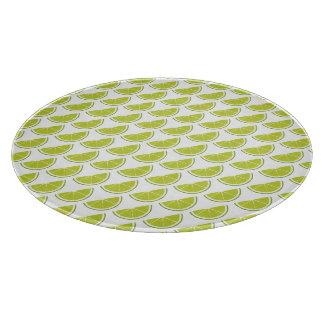Lime Slice cutting board
