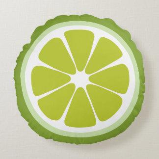 Lime Slice Food Pillow