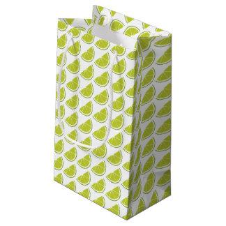 Lime Slice gift bag