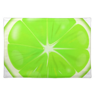 Lime Slice Placemat