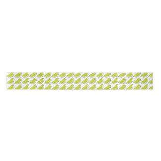 Lime Slice ribbon Satin Ribbon