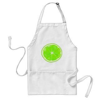 Lime Slice Standard Apron