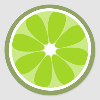 Lime Slice Sticker