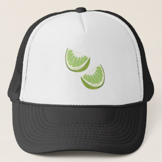 Lime Slices Trucker Hat