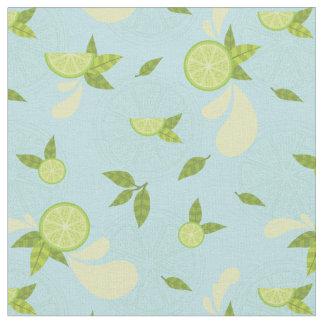 Lime Splash Fabric