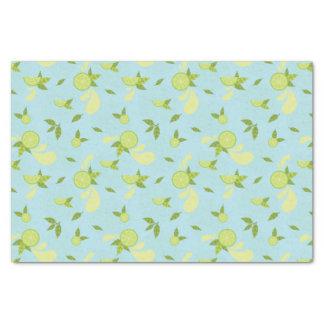 Lime Splash Tissue Paper