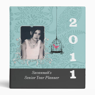 Lime Striped Senior Year Planner Your Senior Photo Binder