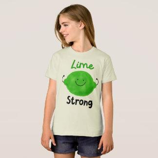 Lime Strong - Girls Organic T-shirt